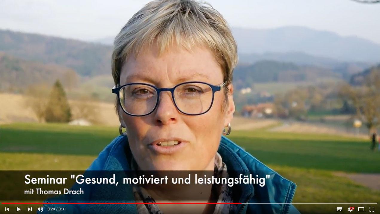Thomas Drach Seminar - Testimonial Sibylle Baumeister