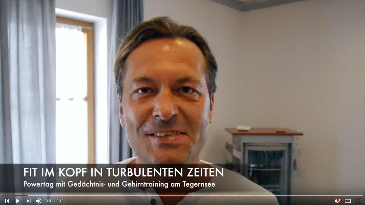 Thomas Drach Seminar - Testimonial - Fit im Kopf Wolfgang Hofstaller